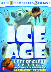 Ice Age 1-5 - De Complete Collectie-DVD