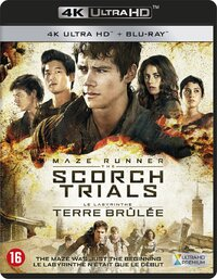 Maze Runner - The Scorch Trials (4K Ultra HD En Blu-Ray)-4K Blu-Ray