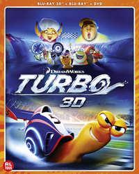 Turbo (3D En 2D Blu-Ray +DVD)-3D Blu-Ray
