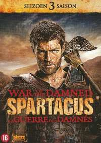 Spartacus War Of The Damned - Seizoen 3-DVD