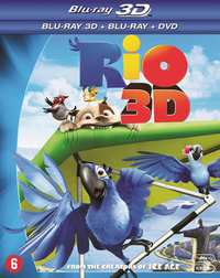 Rio (3D En 2D Blu-Ray +DVD)-3D Blu-Ray