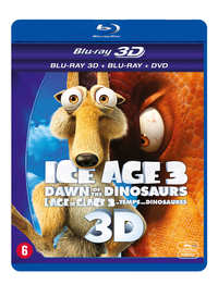 Ice Age 3 - Dawn Of The Dinosaurs (3D En 2D Blu-Ray + DVD)-3D Blu-Ray