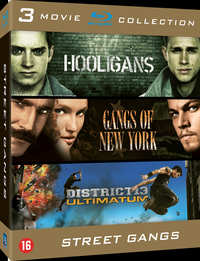 Hooligans / Gangs Of New York / District 13: Ultimatum-Blu-Ray