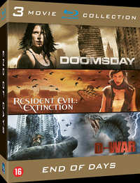 Doomsday / Resident Evil Extinction / D-War-Blu-Ray