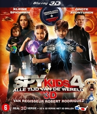 Spy Kids 4 - All The Time In The World In 4D (3D Blu-Ray)-3D Blu-Ray