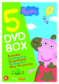 Peppa - 5 DVD Box-DVD