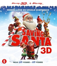 Saving Santa (3D En 2D Blu-Ray)-3D Blu-Ray