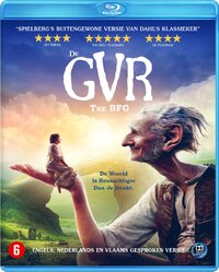 De GVR (Grote Vriendelijke Reus)-Blu-Ray