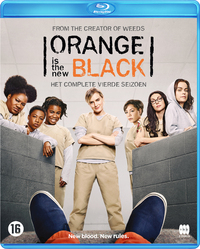 Orange Is The New Black - Seizoen 4-Blu-Ray