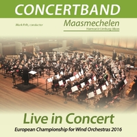 Live In Concert At Ecwo-Concertband Maasmechelen-CD