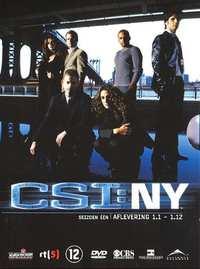 Csi New York - Seizoen 1 Deel 1-DVD