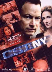 Csi New York - Seizoen 4 Deel 2-DVD