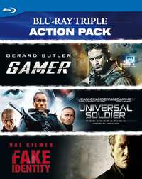 Triple Action Pack-Blu-Ray