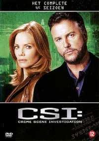 Csi - Seizoen 4-DVD
