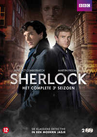 Sherlock - Seizoen 3-DVD