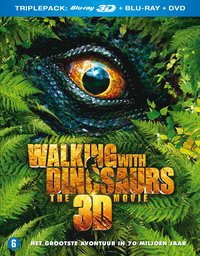 Walking With Dinosaurs The Movie (3D En 2D Blu-Ray + DVD)-3D Blu-Ray
