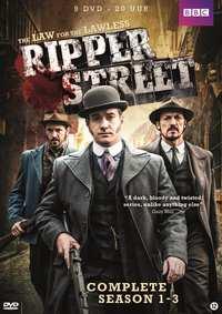 Ripper Street - Seizoen 1-3-DVD