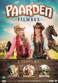 Paarden Filmbox - 3 Topfilms-DVD