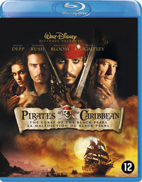 Pirates Of The Caribbean 1: The Curse Of The Black Pearl-Blu-Ray