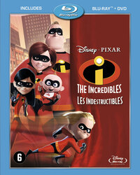 The Incredibles-Blu-Ray
