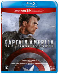Captain America - The First Avenger (3D En 2D Blu-Ray)-3D Blu-Ray