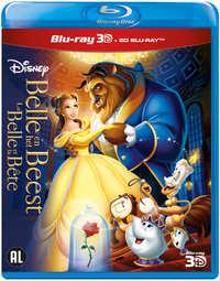 Belle En Het Beest (2D+3D Blu-Ray)-3D Blu-Ray