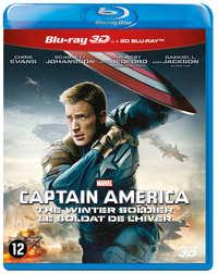 Captain America - The Winter Soldier (3D En 2D Blu-Ray)-3D Blu-Ray
