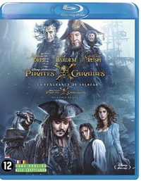 Pirates Of The Caribbean 5: Salazar's Revenge-Blu-Ray