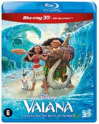 Vaiana (3D En 2D Blu-Ray)-3D Blu-Ray