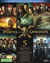 Pirates Of The Caribbean 1-5-Blu-Ray