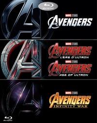 Avengers 1-3-Blu-Ray