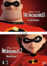 The Incredibles 1+2-DVD