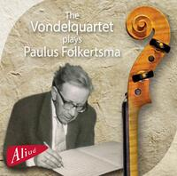 The Vondelquartet Plays Paulus Folkertsma-The Vondelquartet-CD