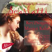 Vocal Works By Domenico Scarlatti-Key2Singing-CD