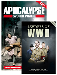 Apocalypse WW II box + Leaders of WW II (11 dvd's)