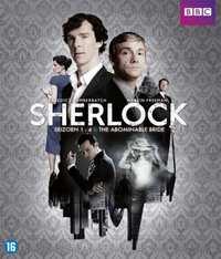 Sherlock - Seizoen 1-4 + The Abominable Bride-Blu-Ray