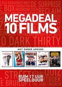 Megadeal 10 Films (Rood)-DVD