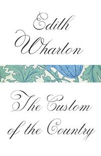 The Custom of the Country-Edith Wharton