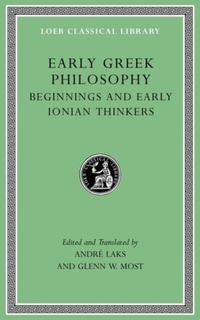 Early Greek Philosophy, Volume I - Introductory and Reference Materials-Glenn Most