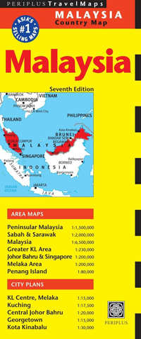 Periplus Country Map - Malaysia-