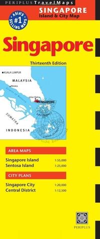 Periplus Island & City Map - Singapore-