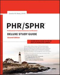 Phr and Sphr Professional in Human Resources Certification Complete Deluxe Study Guide-Sandra M. Reed