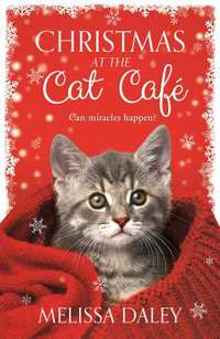 Christmas at the Cat Cafe-boek cover voorzijde