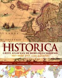 Historica - grote atlas van de wereldgeschiedenis-Rebo Productions
