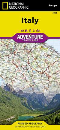 Italy - Adventure Map-National Geographic Maps - Adventure