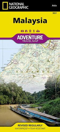Malaysia Adventure Travel Map-National Geographic Maps - Adventure