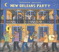 Putumayo Presents - New Orleans Party (CD)-