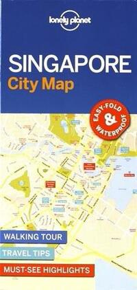 Lonely Planet - Singapore City Map-Lonely Planet