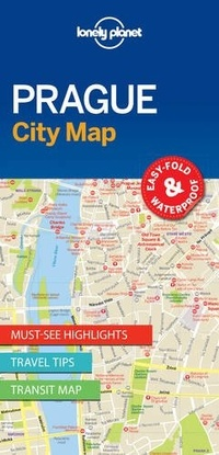 Lonely Planet - Prague City Map-Lonely Planet