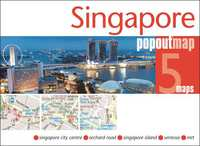 Popout Map: Singapore-Compass Maps